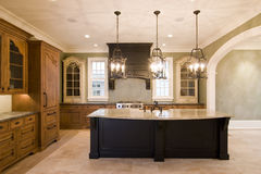 Cozinha opulento Fotografia de Stock Royalty Free