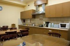 Cozinha pública fotografia de stock