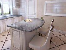 Cozinha para povos elegantes Fotos de Stock Royalty Free