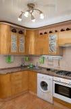 Cozinha-postforming, pérola do ouro imagens de stock royalty free
