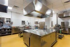 Cozinha profissional 3 Fotografia de Stock Royalty Free