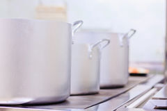 Cozinha profissional Fotos de Stock