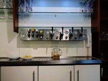 Cozinha profissional Fotos de Stock Royalty Free