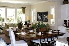Cozinha/sala de visitas Foto de Stock Royalty Free