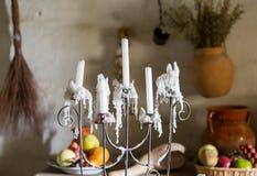 Cozinha tradicional na missão em Califórnia Fotografia de Stock Royalty Free
