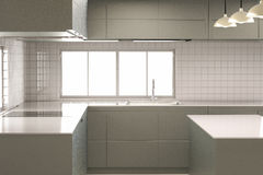 Cozinha vazia Foto de Stock
