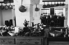 Cozinha velha Imagens de Stock Royalty Free