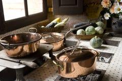 Cozinha velha Imagem de Stock Royalty Free