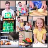 Cozinhando Fotografia de Stock