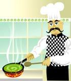 Cozinhando algo especial Fotos de Stock Royalty Free