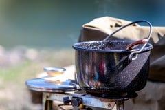 Cozinhando a bacia Fotografia de Stock