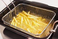 Cozinhando fritadas imagens de stock
