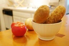 Cozinhando ingredientes Imagens de Stock Royalty Free