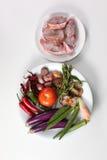 Cozinhando ingredientes Imagem de Stock