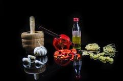 Cozinhando ingredientes Imagens de Stock
