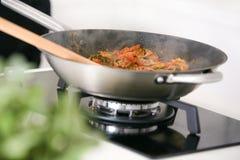 Cozinhando a massa Imagem de Stock Royalty Free
