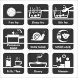 Cozinhando o ícone ilustração royalty free