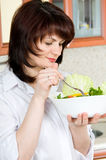 Cozinhando o alimento Foto de Stock