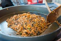 Cozinhando o alimento local coreano Imagem de Stock Royalty Free
