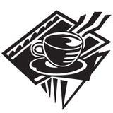 Cozinhando o café ilustração stock