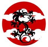 Cozinhando o dragão ilustração stock