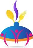 Cozinhando o logotipo ilustração do vetor