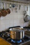 Cozinhando o potenciômetro Imagens de Stock Royalty Free