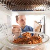 Cozinhando o trigo mourisco Foto de Stock Royalty Free