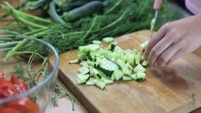 Cozinhando a salada saudável filme