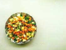 Cozinhando veges Foto de Stock Royalty Free