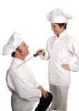 Cozinhar-um-lote do senhor Fotos de Stock