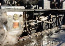 Cozinhe as rodas do trem Imagem de Stock