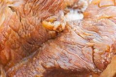 Cozinhe o pé da carne de porco com molho no estilo chinês Foto de Stock