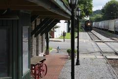 Cozinhe o trem de Chattanooga, TN a Summerville, GA Fotos de Stock