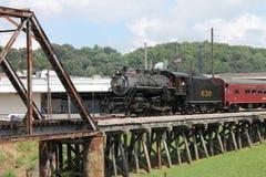Cozinhe o trem de Chattanooga, TN a Summerville, GA Imagens de Stock