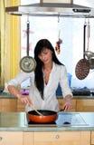 Cozinheiro Fotografia de Stock Royalty Free