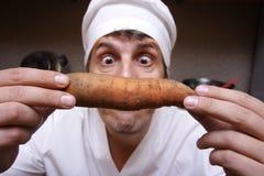 Cozinheiro assustador Fotografia de Stock