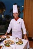 Cozinheiro chefe Fotografia de Stock