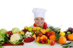 Cozinheiro chefe Foto de Stock