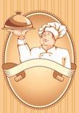 Cozinheiro chefe Fotos de Stock Royalty Free