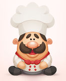 Cozinheiro chefe ilustração stock