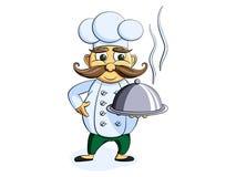 Cozinheiro chefe Ilustração do Vetor