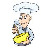 Cozinheiro chefe Cartoon islolated - ilustração do vetor ilustração do vetor