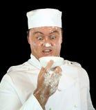 Cozinheiro chefe choc Foto de Stock Royalty Free