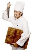 Cozinheiro chefe Serie Fotografia de Stock Royalty Free