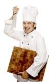 Cozinheiro chefe Serie foto de stock royalty free