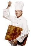Cozinheiro chefe Serie foto de stock