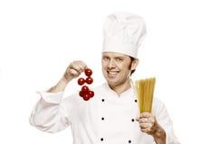 Cozinheiro chefe Serie fotografia de stock
