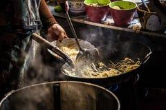 Cozinheiro chefe Cooking Imagem de Stock Royalty Free