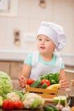 Cozinheiro chefe da criança Imagens de Stock